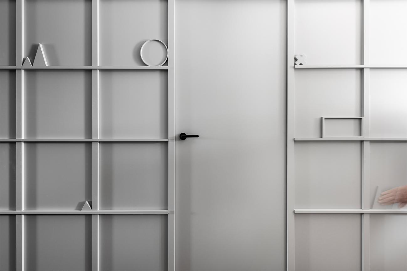Ramus praktiškumas - privataus interjero projektas - 2