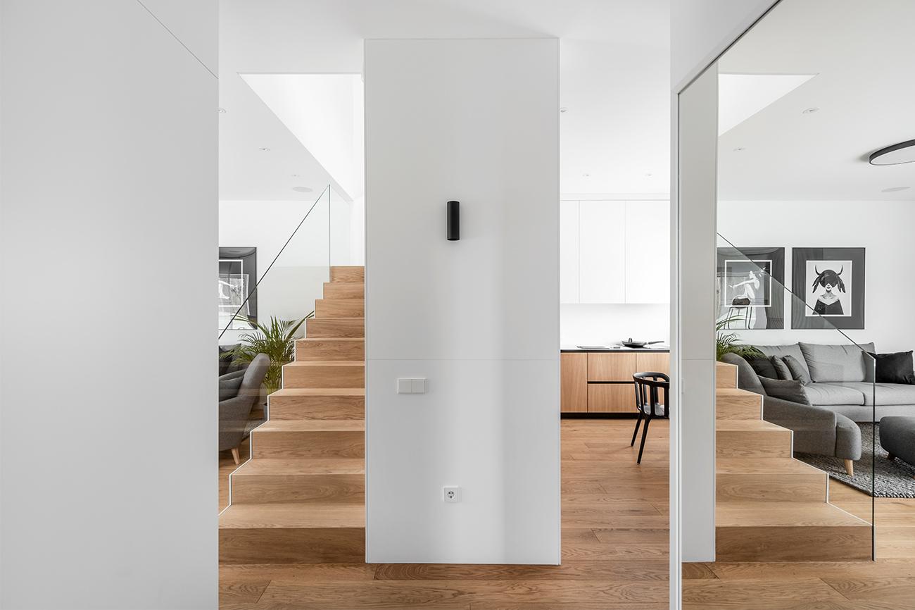 Balta estetika - privataus interjero projektas - 13