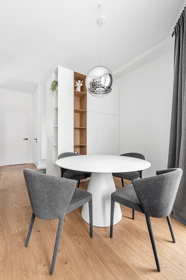 Balta estetika - privataus interjero projektas - 7