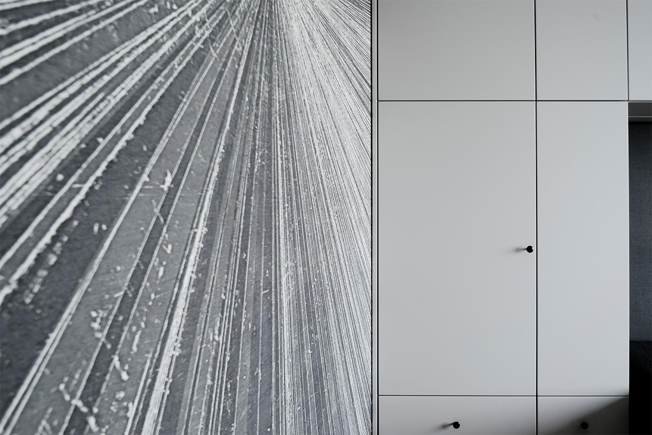 Jaunatviškas minimalizmas - privataus interjero projektas - 1