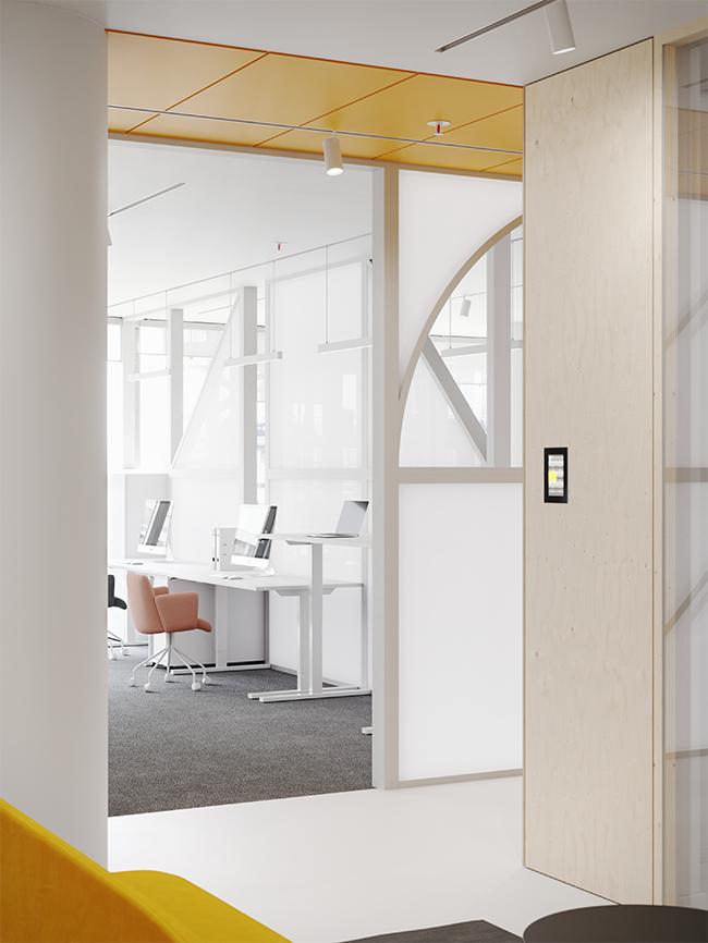 Lankstus dekoratyvumas - privataus interjero projektas - 8