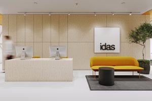 Lankstus dekoratyvumas - privataus interjero projektas